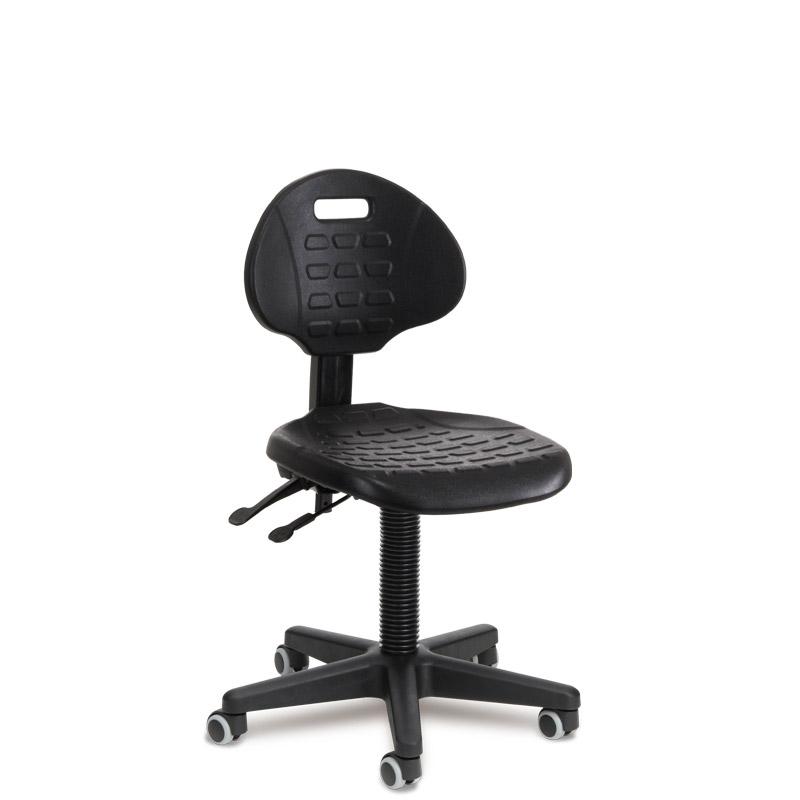 Arbeitsstuhl 505 PU schwarz