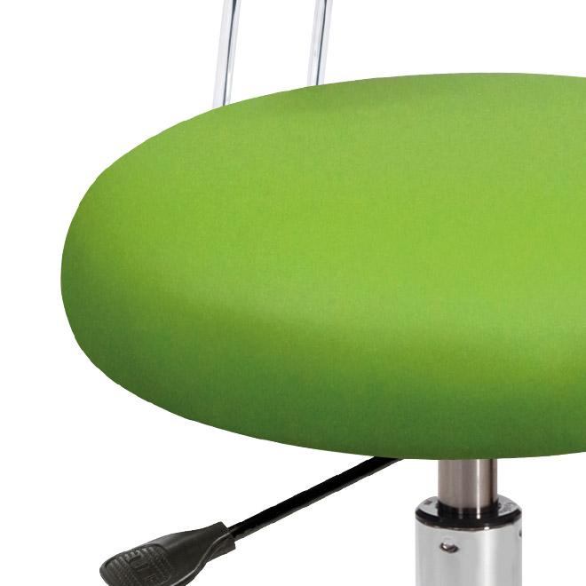 Drehhocker 230 V Apfelgrün