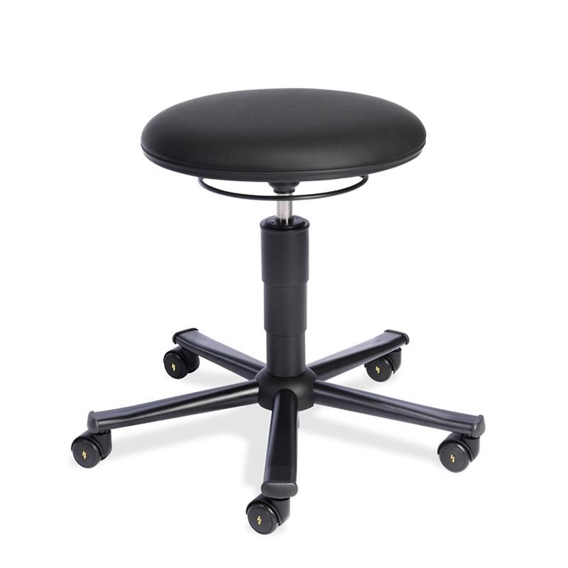 ESD-Stuhl 523 VRM schwarz
