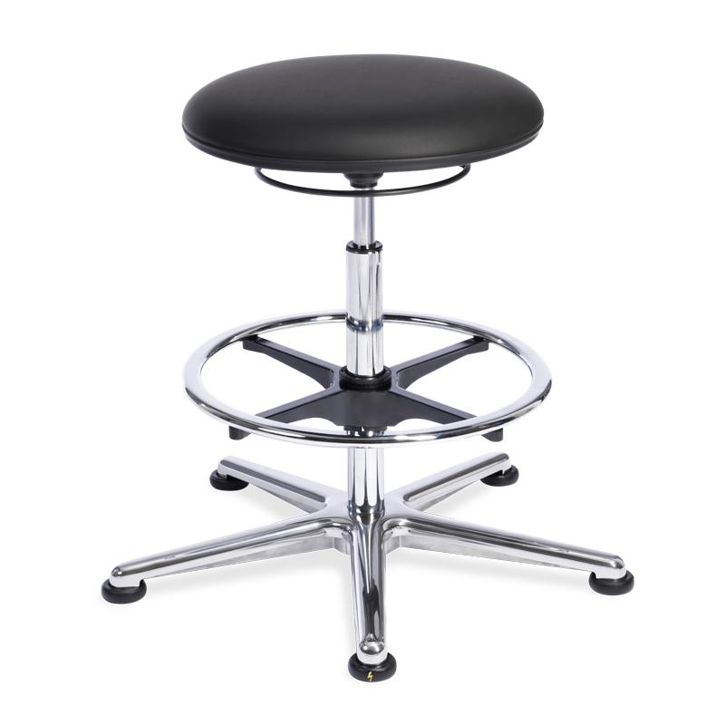 ESD-Stuhl 523 VXCRM schwarz